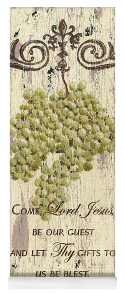 Grapes And Grace 1 Yoga Mat