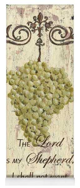 Grapes And Grace 2 Yoga Mat