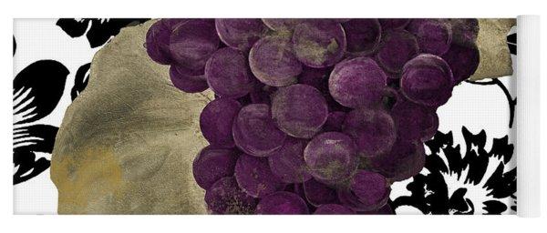Grapes Suzette Yoga Mat