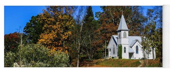 Grassy Creek Methodist Church Yoga Mat