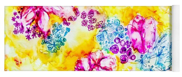 Gratitude Blooms Yoga Mat