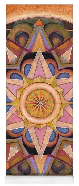 Gratitude Mandala Yoga Mat