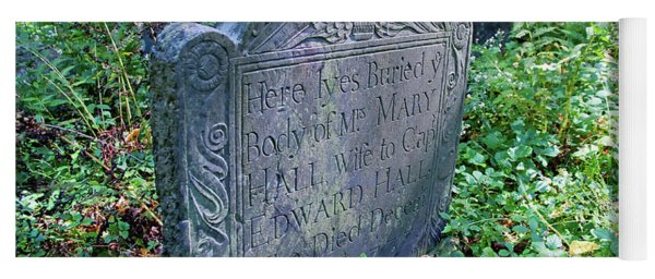 Grave Of Mary Hall Yoga Mat