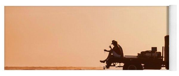 Grayton Beach Flatbed Sunset Yoga Mat