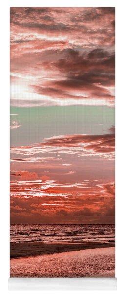 Grayton Red Sunset Yoga Mat