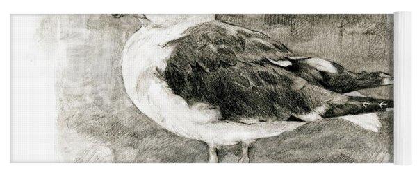 Great Black-backed Gull Yoga Mat
