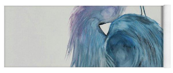 Great Blue Heron 2 Yoga Mat
