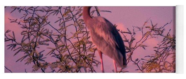 Great Blue Heron - Artistic 6 Yoga Mat