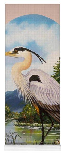 Flying Lamb Productions                 Great Blue Heron Yoga Mat