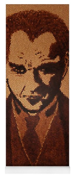 Great Mustafa Kemal Ataturk  Yoga Mat