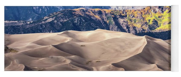 Great Sand Dunes Of Southern Colorado Yoga Mat