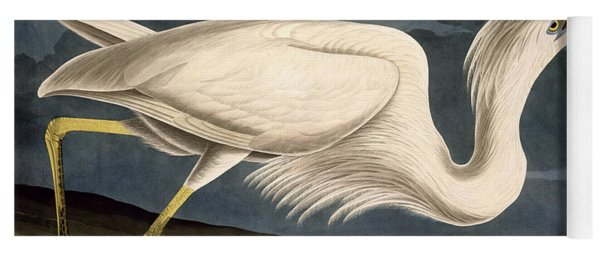 Great White Heron Yoga Mat