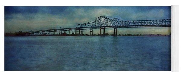 Greater New Orleans Bridge Yoga Mat