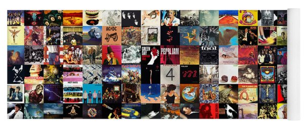Greatest Album Covers Of All Time Yoga Mat