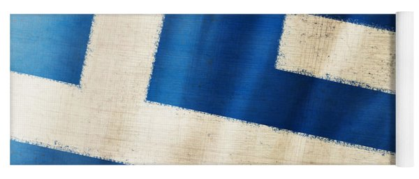 Greece Flag Yoga Mat