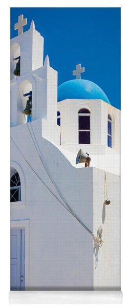 Greek Chapel Yoga Mat