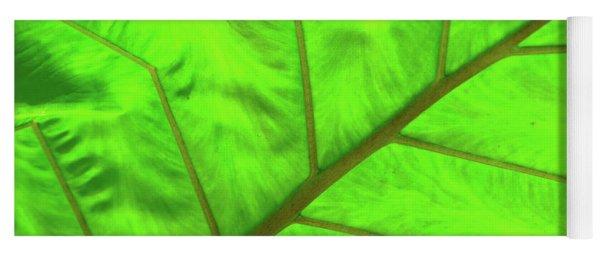 Green Abstract No. 5 Yoga Mat