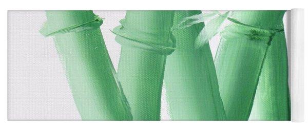 Green  Bamboo Yoga Mat