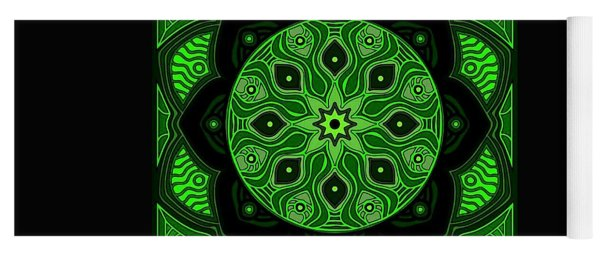 Green Beauty Yoga Mat