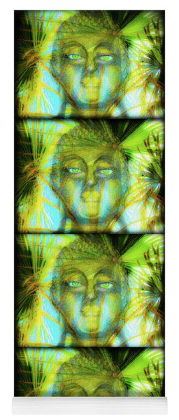 Quad Nature Buddha Yoga Mat