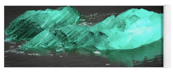 Green Iceberg Yoga Mat