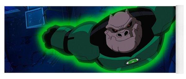 Green Lantern Corps Yoga Mat