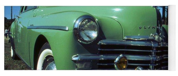 American Limousine 1957 - Historic Car Photo Yoga Mat