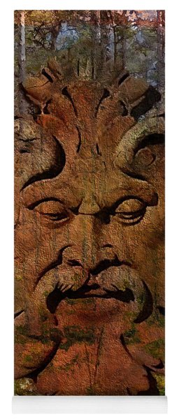 Green Man Of The Forest 2016 Yoga Mat