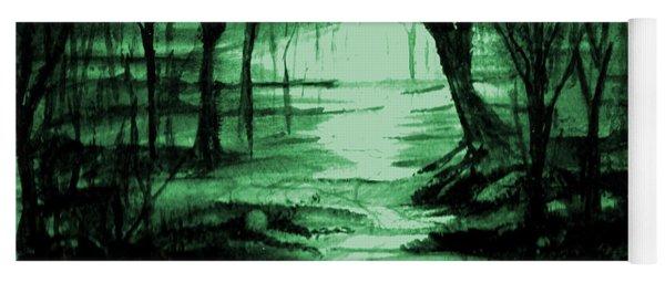 Green Mist Yoga Mat