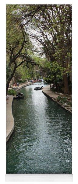 Green San Antonio River Yoga Mat