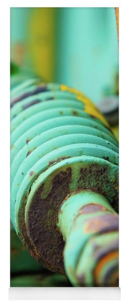 Green Spring Yoga Mat