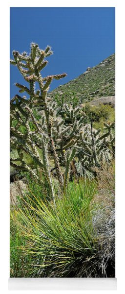 Greening Of The High Desert Yoga Mat