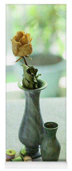 Greenish Still Life Yoga Mat