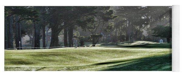 Greens Golf Harding Park San Francisco  Yoga Mat