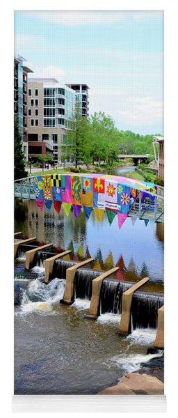 Greenville River Walk Yoga Mat