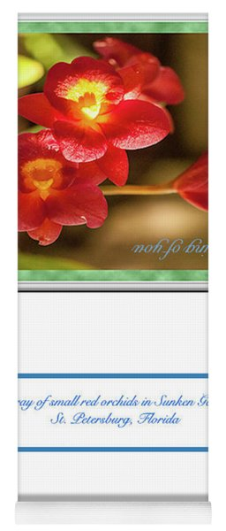 Greeting Card 01 Yoga Mat
