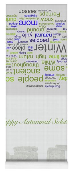 Greeting Card 07 Yoga Mat