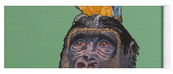 Gregory The Gorilla Yoga Mat