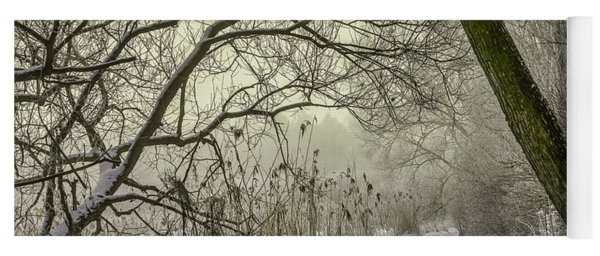 Yoga Mat featuring the photograph Grey Day #h1 by Leif Sohlman