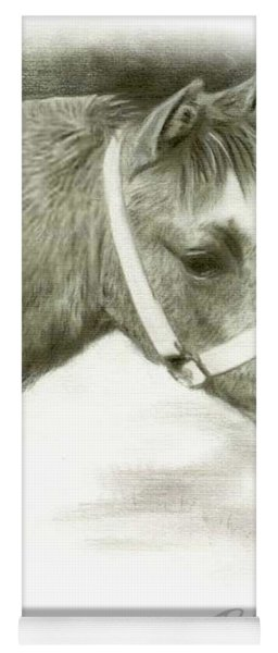 Grey Welsh Pony  Yoga Mat