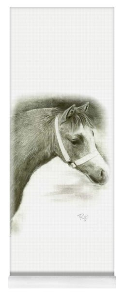 Grey Welsh Pony  Yoga Mat
