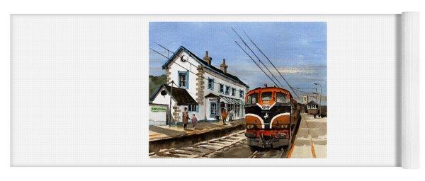 Greystones Railway Station Wicklow Yoga Mat