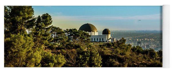 Griffith Observatory Yoga Mat