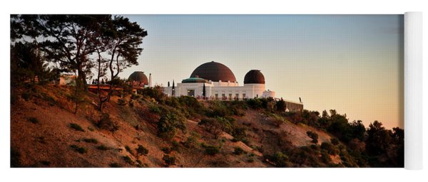 Griffith Observatory Sunset Yoga Mat