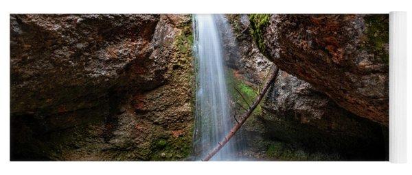 Grotto Falls Yoga Mat