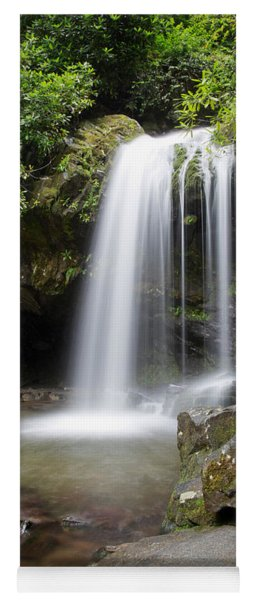 Grotto Falls Vertical Yoga Mat