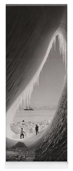 Grotto In An Iceberg, Photographed During The British Antarctic Expedition Of 1911-1913, 5 Jan 1911, Yoga Mat