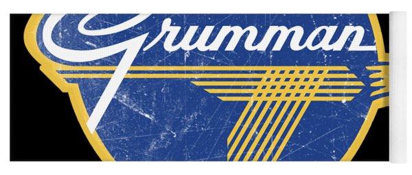 Grumman Est 1929 Distressed Yoga Mat