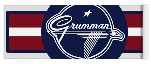 Grumman Stripes Yoga Mat