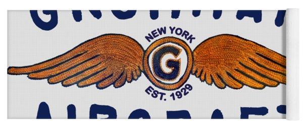 Grumman Wings Blue Yoga Mat